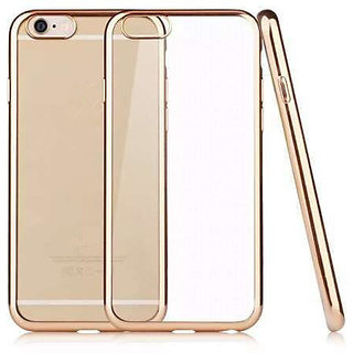 Snaptic Golden Chrome TPU Cover for Reliance Jio LYF Wind 4