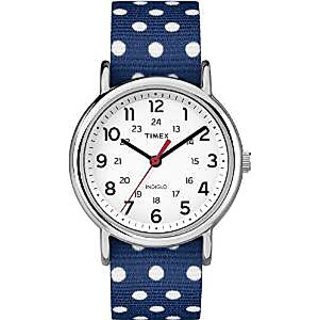 Timex Quartz White Dial Women Watch-TW2P660006S