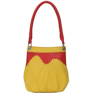 Borsavela Shoulder Bag         (Yellow 02) BVHA22C