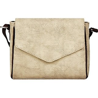 Borsavela Women Grey PU Sling Bag BVSL10MG