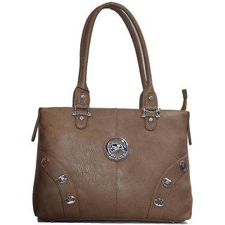 Moochies Brown ladies Leatherite handbag emzmocfpN6darkbrown