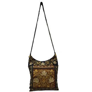 Sofias Multi ladies Pure Leather handbag emzsofiasembpur30