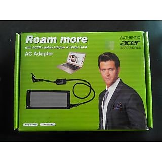 GENUINE Original Acer 65w LAPTOP ADAPTER CHARGER 19v FOR ACER TRAVELMATE 24802968 2481WXCI with 1 year warranty