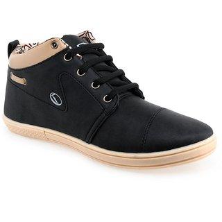 Lancer Lifestyle Black Casual Shoes