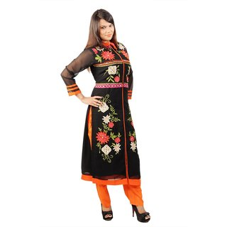 Kazumi Festive Party Embroidered Womens Kurti KZ00024