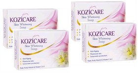 Kozicare Skin Whitening Soap 75gm (Pack of 4)