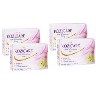 Kozicare Whitening & Fairness All Skin Types  Soap 75gm (Pack of 4)