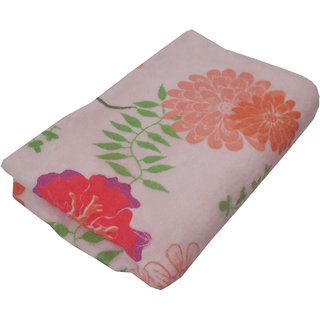 Welhouse Floral Beautiful and Soft Feel premium Quality Ladies Bath Towel