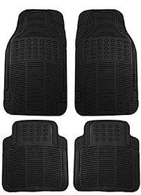 Autosun Foot Car Mat Universal For Car Universal For Car (Black)