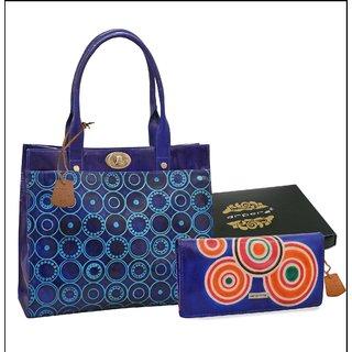 Arpera Leather Handbag gift combo for women CB16025