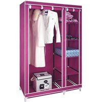 Shopper52 Foldable Wardrobe Almirah Cupboard