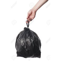 Garbage Bag with Handle 16X20 60 pcs