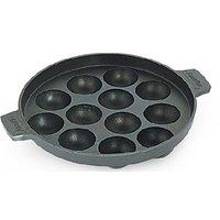 12 Pits Non-stick Cookware Appam Patra Maker