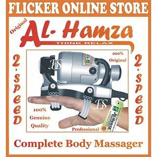 100 ORIGINAL BLACK PRINCE AL-HAMZA POWERFUL HANDY  PROFESSIONAL BODY MASSAGER