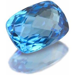 5.25ratti blue topaz gemstone with lab certified