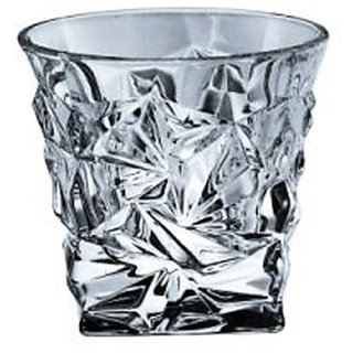 Bohemia Glacier bohwh02(350 ml, Clear, Pack of 6)