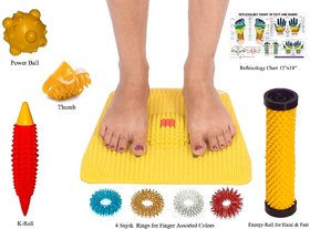 Acupressure Foot Mat With Acupressure Kit