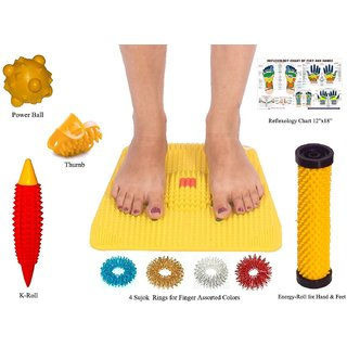 Buy Acupressure Foot Mat With Acupressure Kit Online Get