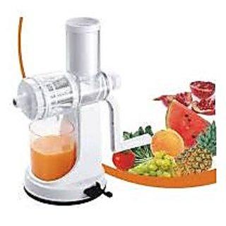Benison India Sagar Fruit  Vegetable Plastic White Juicer