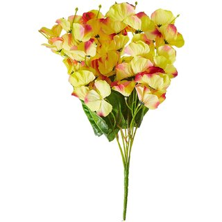 Goutam Kumar Artificial Butterfly Orchid Flower Bouquet