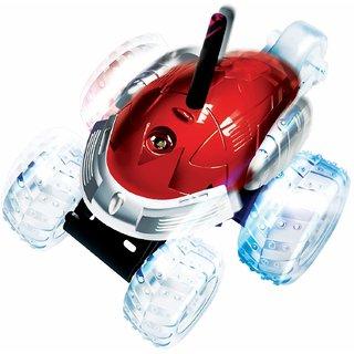Mitashi Dash Rechargeable R/C Flip N Spin Tornado Car-Red
