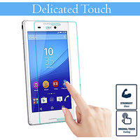 BZtech Sony Xperia M4 Aqua Tempered Glass,Premium - Shatter Proof - 0.33mm Thickness- 9H Hardness Glass Screen Protector