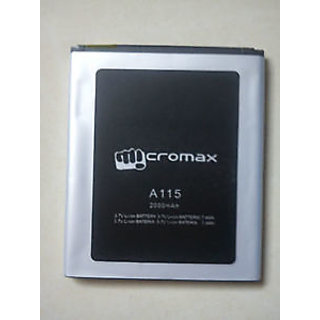 GENUINE MICROMAX A115 Battery-2000 mAh FOR Micromax-A115