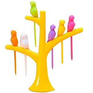 Gourment Birdie Table Top Fruit Fork Set