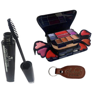 ADS 1609 Mascara, 3746 Makeup Kit with Ashra Keychain