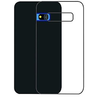 MuditMobi Soft Silicone TPU Crystal Soft Transparent Back Case Cover For- Intex Aqua R4
