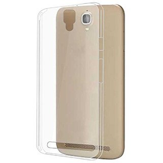 MuditMobi Soft Silicone TPU Crystal Soft Transparent Back Case Cover For- Panasonic Eluga Icon