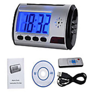 Latest Spy Digital Table Clock Camera HD with remote control
