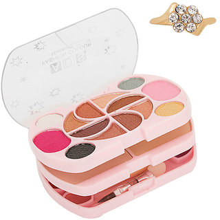 ADS Complete 3 in 1 Fashion Make-Up Kit Good Choice Unique Design Ring