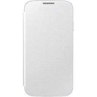 MuditMobi Premium Quality Flip Case Cover For- Nokia Lumia 520 - White