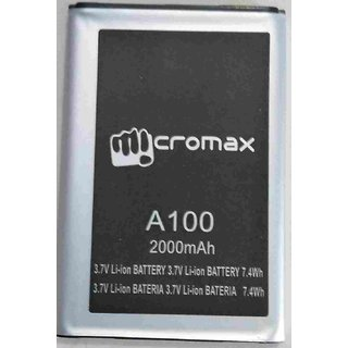 GENUINE MICROMAX A100 Battery-2000MAH FOR Micromax-A100