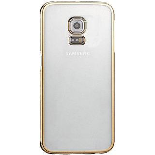 MuditMobi Stylish TPU Soft Silcon Back Cover For- Samsung Galaxy Note 3- Transparent-Gold