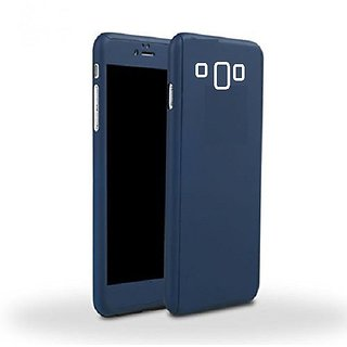 MuditMobi iPaky 360 Case Full Body Protective With Tempered Glass Case Cover For- Samsung Galaxy J5 -Blue