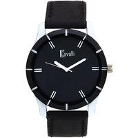 Cavalli Black Dial Analog Watch-For Men, Boys