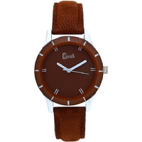 Cavalli Brown Dial With Brown Leather Strap Analog Watch- For Women, Girls
