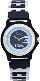 Cavalli White  Black Dial Bio Metal Strap Watch-For Wom