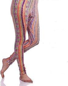 Colorful Traditional Printed Leggings