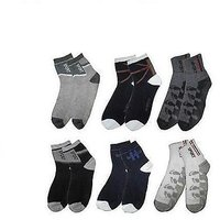 6 pairs of cotton ankle socks