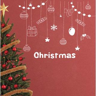 Creatick Studio Christmas Cookies  Gifts Wall Sticker(21x20Inch)