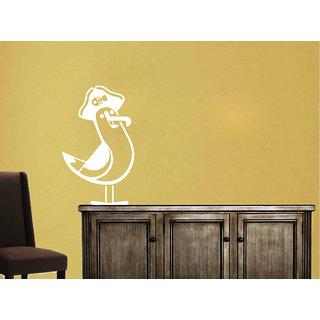 Creatick Studio Gull Wall Sticker(15x26Inch)