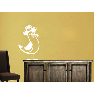 Creatick Studio Gull Wall Sticker(19x31Inch)