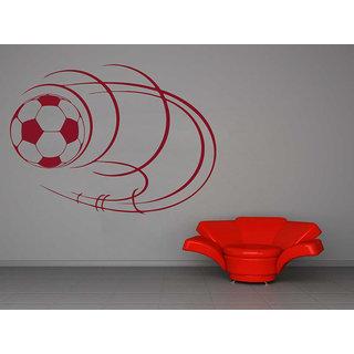 Creatick Studio  Football Wall sticker  (27x19Inch)