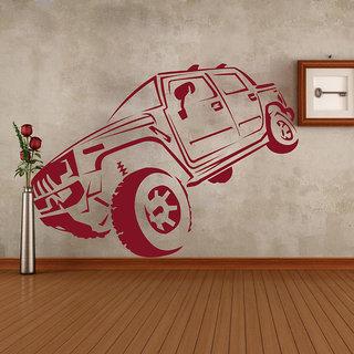 Creatick Studio  Hummer Wall sticker  (28x21Inch)