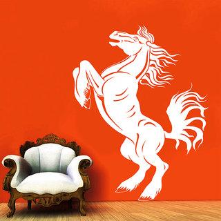 Creatick Studio Horse Wall Sticker(18x27Inch)