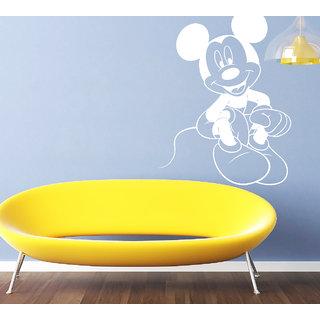 Creatick Studio Mickey Mouse Wall Sticker(21x30Inch)