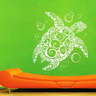 Creatick Studio Turtle Wall Sticker(19x20Inch)